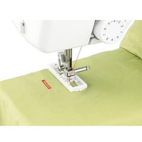 Close up stitching - Brother 17 Stitch Sewing Machine, JX2517