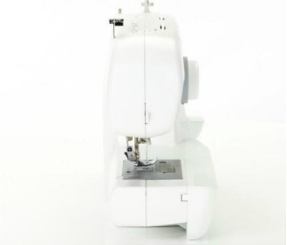 Sewing machine from back