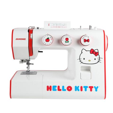 Janome 15822 Hello Kitty Sewing Machine with 24 built in stitches and a one-step buttonhole