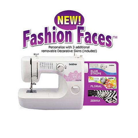 """Fashion Faces"" Brother LX3125E - 14 Stitch Sewing Machine"