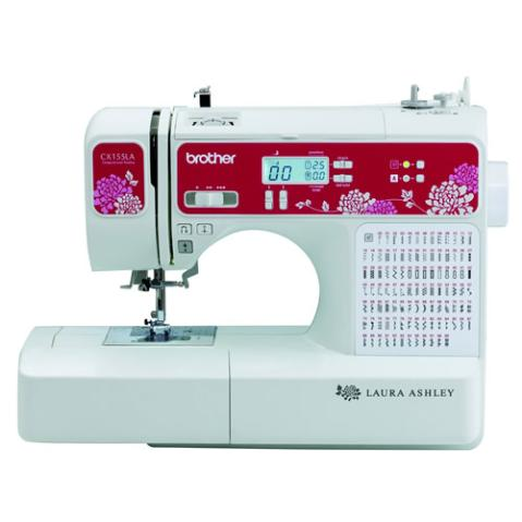 *New* Laura Ashley Limited Edition CX155LA Computerized Sewing & Quilting Machine with Built-in Font for Basic Monogramming