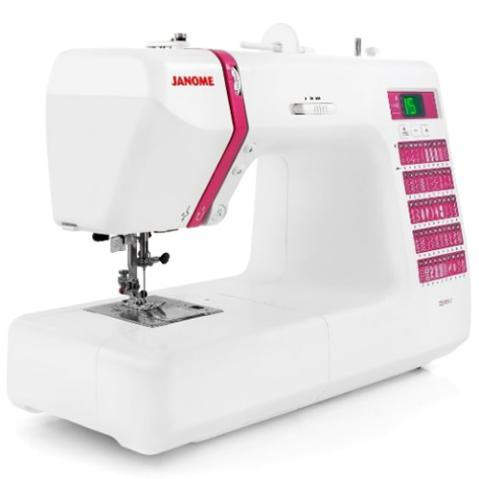 Janome Decor Computerized Sewing Machine with 50 Built-In Stitches