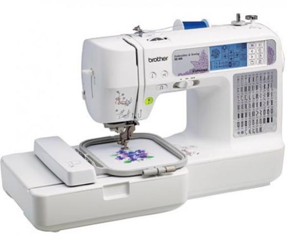 ON SALE! Brother SE400 Computerized Embroidery and Sewing Machine