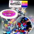 Buttons: Assorted Sizes/Colors; 16 Oz. Bucket
